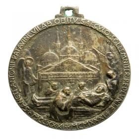Medal of Saint Anthony of Padua 1931 Italy