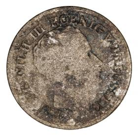 1 silver groschen 1825 Frederick William III Germany Prussia Berlin A