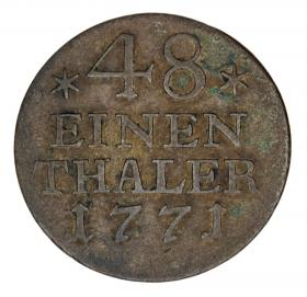 1/48 thaler 1771 Frederick the Great Germany Prussia Berlin