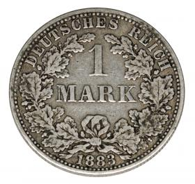 1 mark 1883 Wilhelm I Prussia Berlin