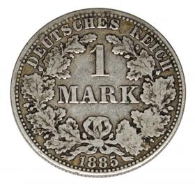 1 mark 1885 Wilhelm I Prussia Berlin